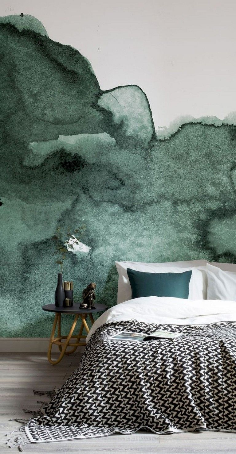 50+ Stunning Creative Bedroom Wallpaper Decor Ideas