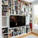 51+ ideas wall shelves for tv book