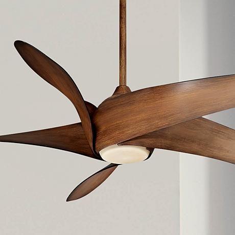 52″ Minka Aire New Era White Ceiling Fan – #K4641 | Lamps Plus