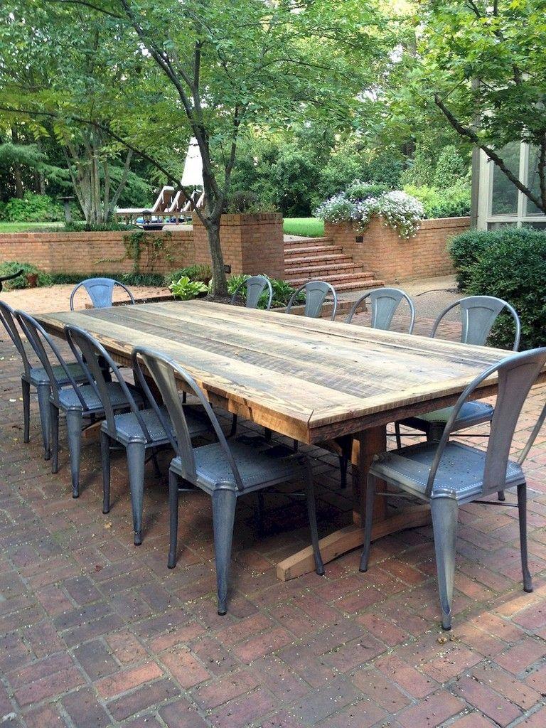 53+ Comfy Patio Table Ideas On A Budget
