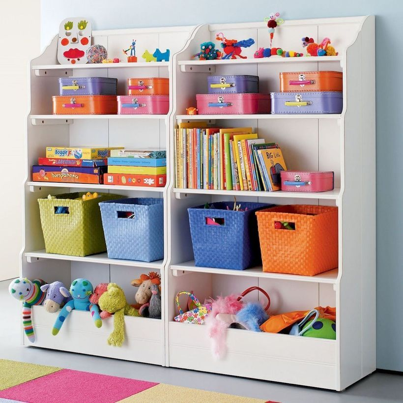 54 Enchanting Toy Storage Design Ideas For 2019