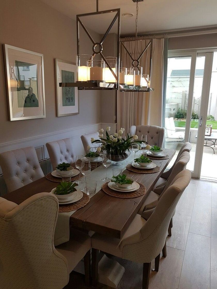 54 Stylish Dining Room Ideas To Make Your House More Colorful