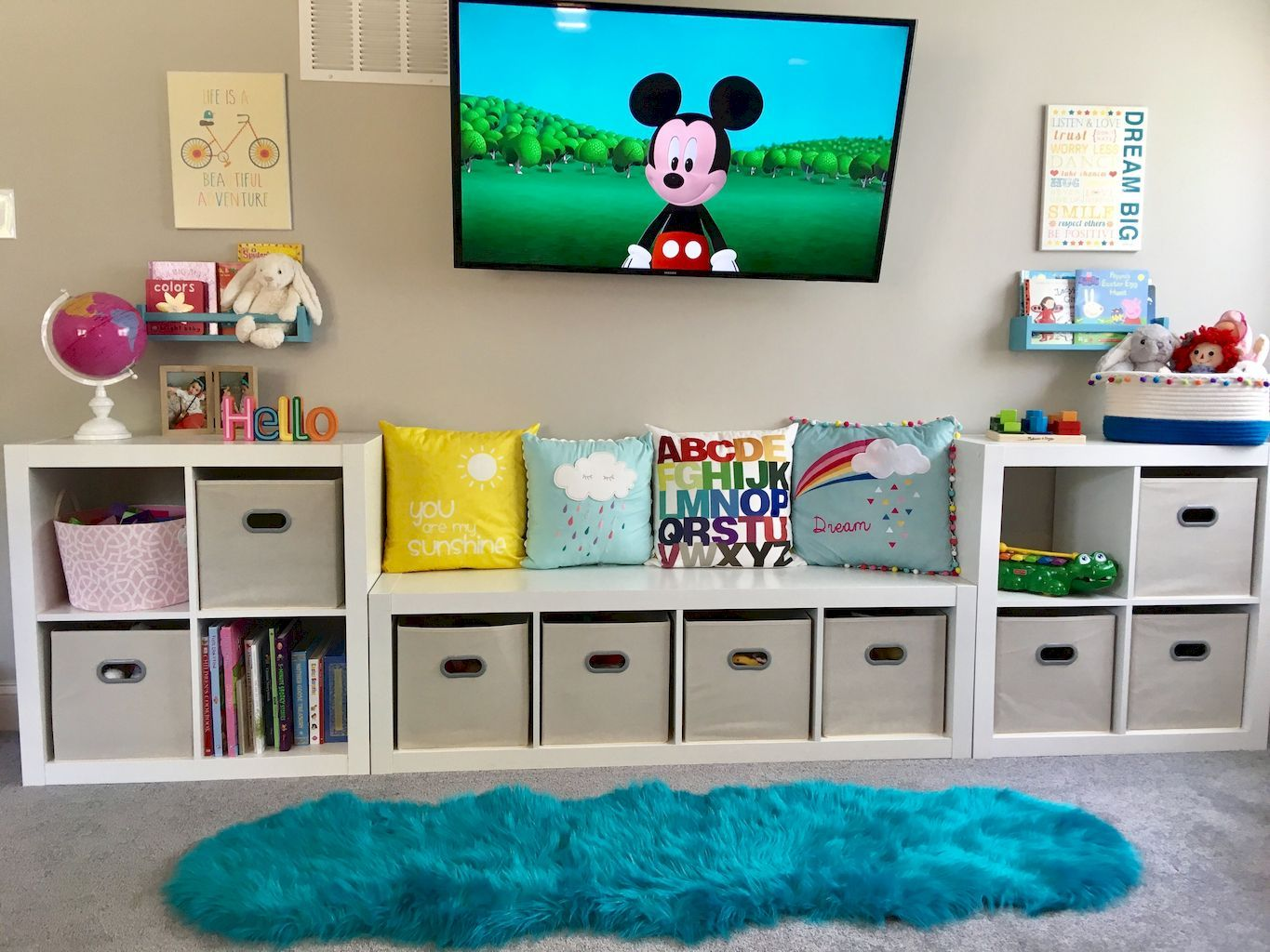 55 Clever Kids Bedroom Organization and Tips Ideas – Insidexterior