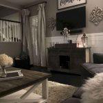 55 Cozy Farmhouse Living Room Makeover Decor Ideas