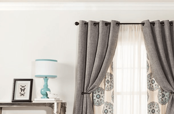 6 Inspiring Curtain Ideas For Your Living Room – Curtains Up Blog | Kwik-Hang