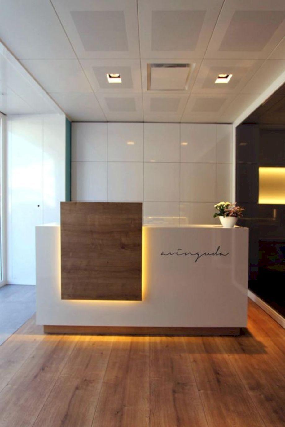60 Inspiring Minimalist Front Office Furniture Ideas – ROUNDECOR