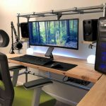 60 Magical DIY Computer Desk Gaming Design Ideas and Decor (16) - artmyideas
