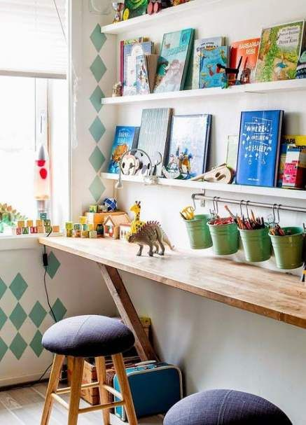 62+ Ideas diy kids desk ideas small spaces for 2019
