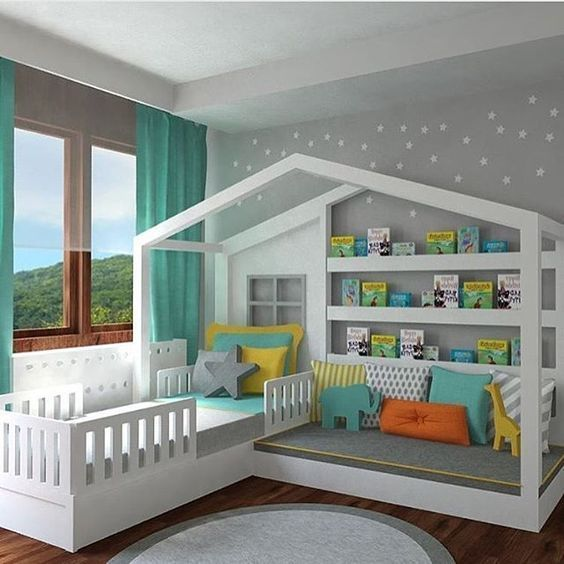62 Most Stunning Ideas to Decorate Your Kids Room – Baby Wear