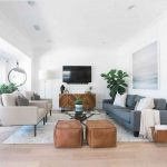 65 Mid Century Modern Living Room Design Ideas - Gladecor.com