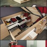 69+ Creative Under Bed Storage Ideas For Bedrooms