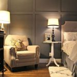 69 Super ideas for bedroom wallpaper accent wall moldings