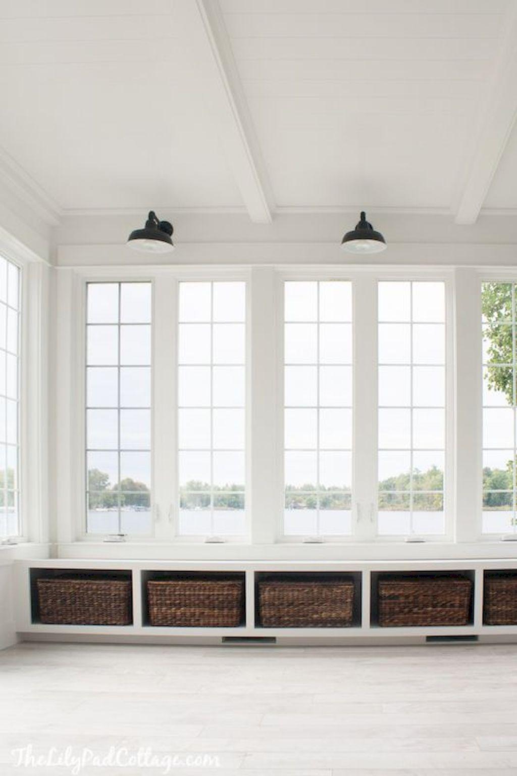 70 Cozy Modern Farmhouse Sunroom Decor Ideas – Wholehomekover