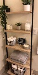 72″ Loring 5 Shelf Leaning Bookcase Vintage Oak – Project 62™ : Target