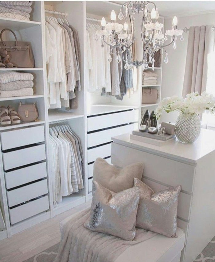73 Useful Walk in Closet Design Ideas for Every Woman Organizing Clothing & Accessories Isabellestyle Blog