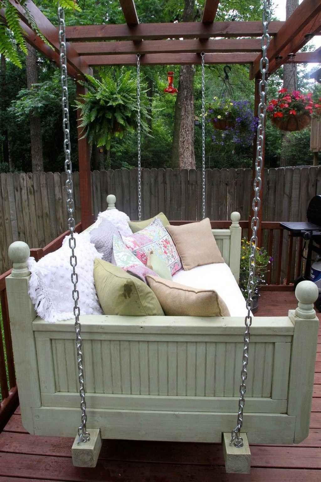 75 Amazing Backyard Garden Swing Seats for Summer