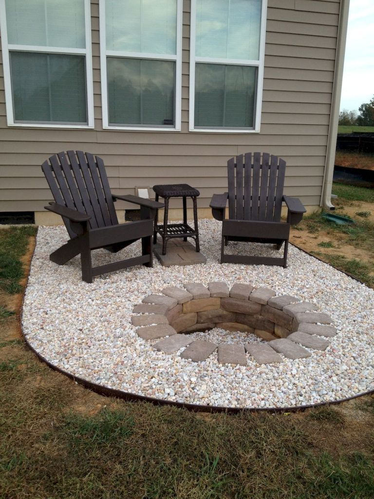 75 Easy and Cheap Fire Pit and Backyard Landscaping Ideas – spaciroom.com