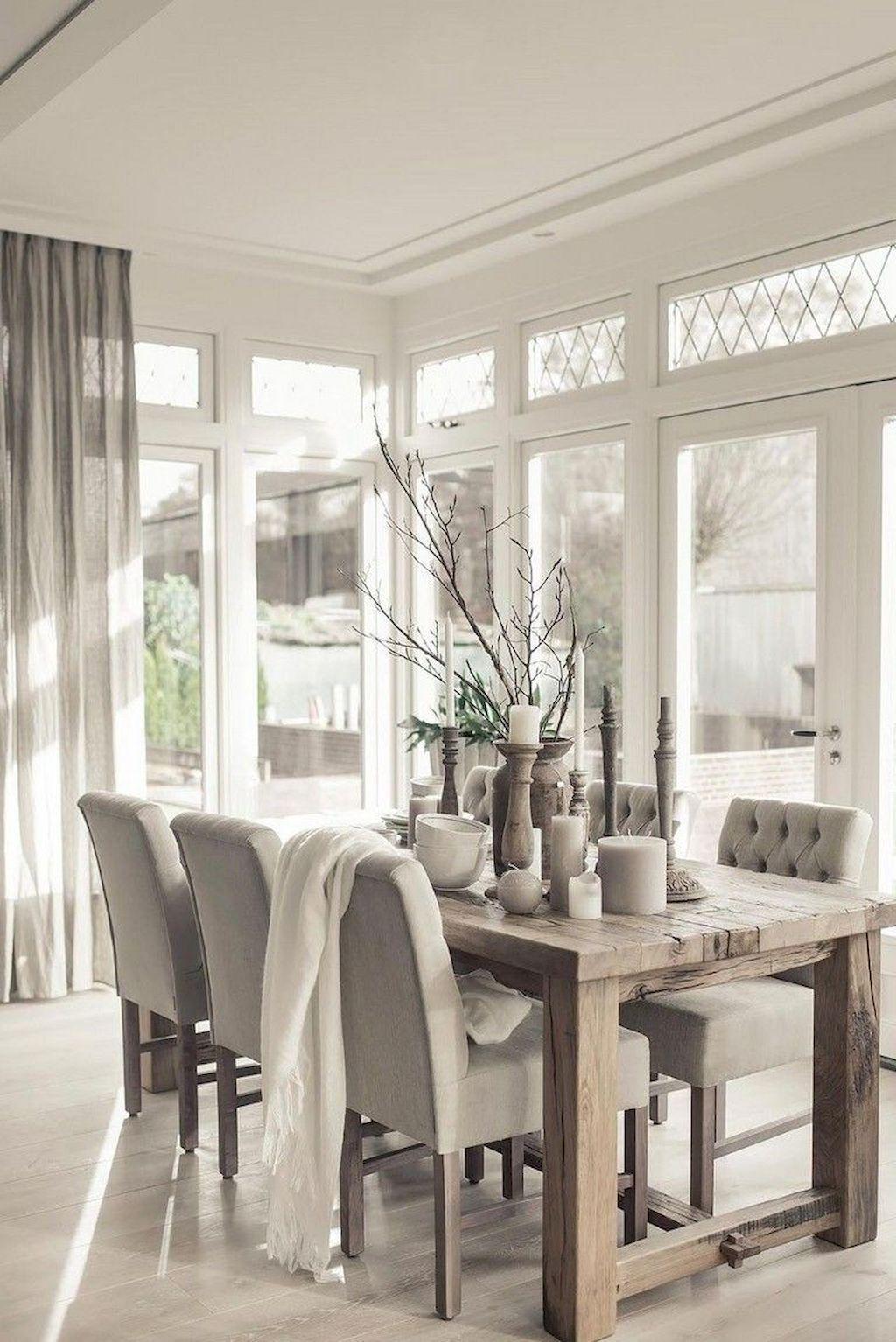 75 Modern Farmhouse Dining Room Decor Ideas – HomeSpecially