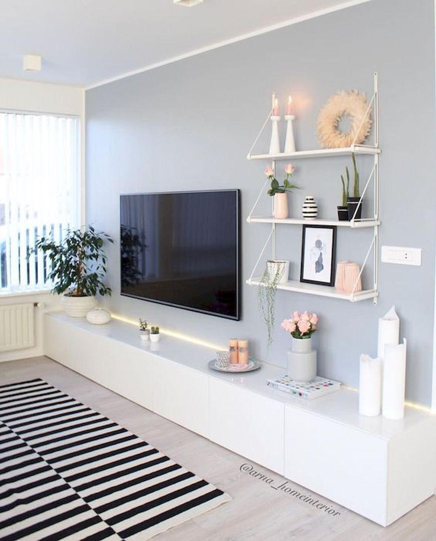 80 Amazing Living Room TV Wall Decor Ideas And Remodel – LivingMarch.com