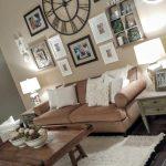 83+ Inspiring for Rustic Living Room Wall Decor Design - Mylittlethink.com