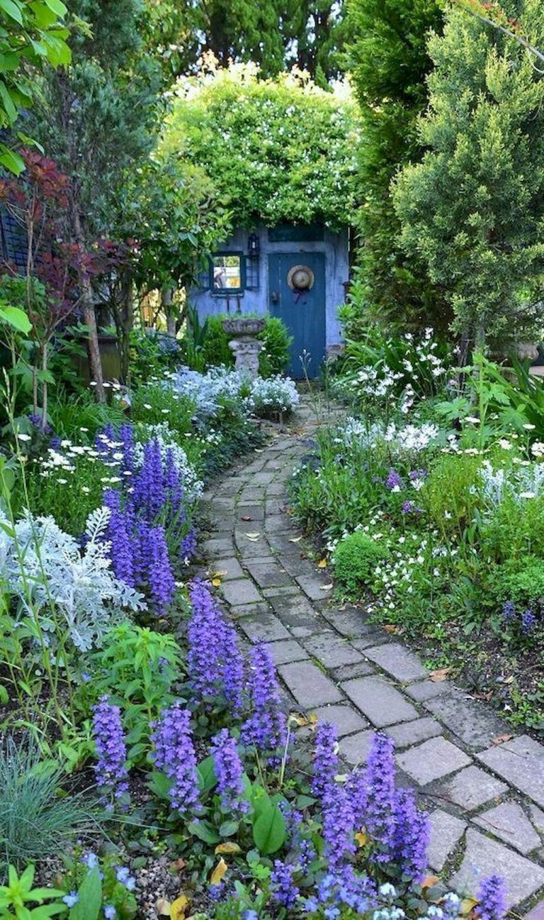 89 beautiful small cottage garden ideas for backyard inspiration – HomeSpecially