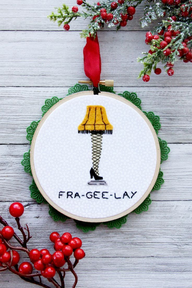 A Christmas Story Leg Lamp Ornament |