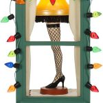 A Christmas Story: Mr. Parker's Pride & Joy Leg Lamp 2019 Hallmark Keepsake Christmas Ornament with Light