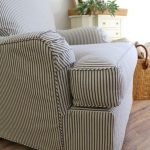 A Cotton Ticking That Works for Washable Slipcovers