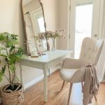 A Pretty Vanity Desk in the Bedroom - Sarah Joy Blog