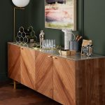 ARTO Grey walnut veneer Sideboard