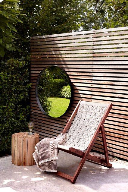 Acacia Macrame Deck Chair