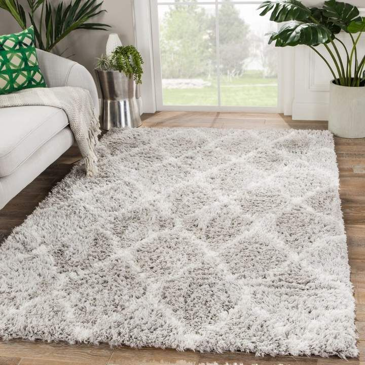 Ackermann Trellis Gray Area Rug | Joss & Main