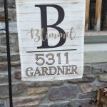 Address Garden Flag