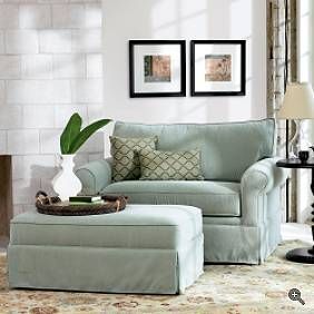Alexandria Sleeper Chair & Ottoman | Grandin Road
