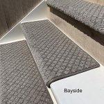 "Amazon.com: Oak Valley Designs Carpet Stair Treads - Style: Bayside Charm (35"" (Single), Silver Birch): Kitchen & Dining"
