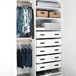 An Organized Teen Boy Closet