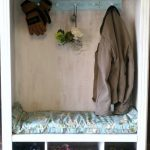 An old TV Armoire I turned into a coat/shoe organizer w/bench. Removed the shelf… - pickndecor.com/furniture