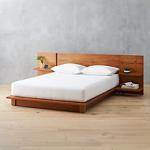 Andes Acacia Bed | CB2