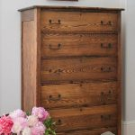 "Antique Oak Chest of Drawers ""As Found"" - Saw Nail and Paint"