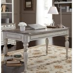 Antique White Writing Desk - Magnolia Manor