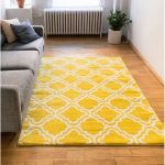 Arbaaz Star Bright Yellow Rug