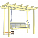 Arbor Swing Plans - Free PDF Download - Construct101
