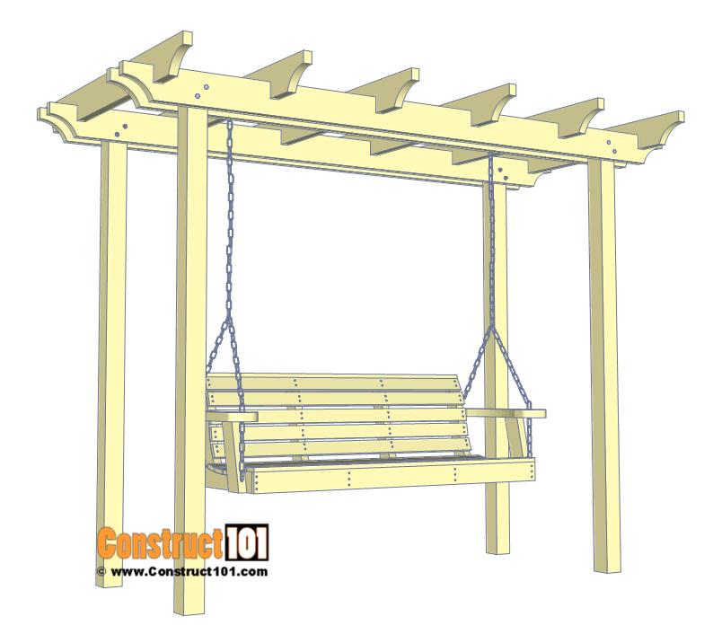 Arbor Swing Plans – Free PDF Download – Construct101