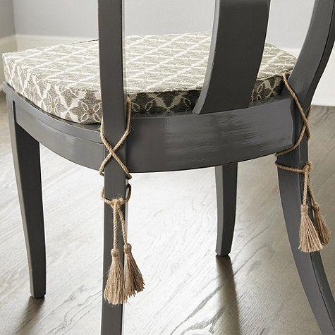 Arletta Klismos Dining Chair Cushion | Ballard Designs