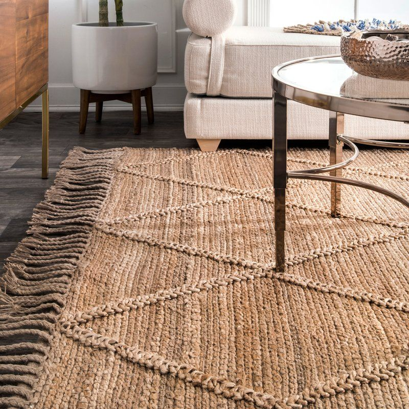 Augustine Hand-Tufted Natural Area Rug