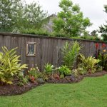 Awe-inspiring Backyard Landscaping Ideas Along Fence