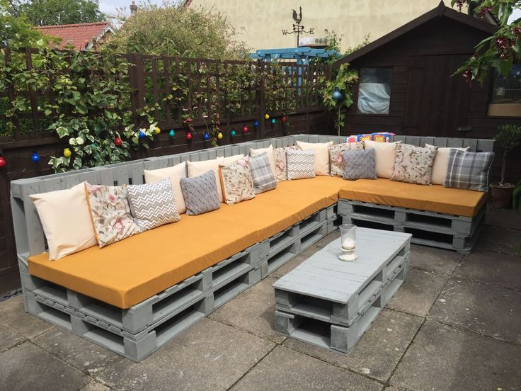 Awesome Pallet Garden Furniture