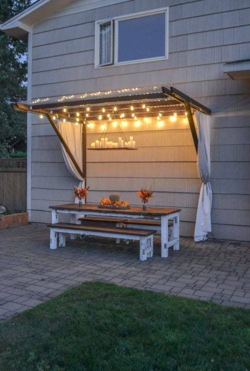 Awning for the house or garden