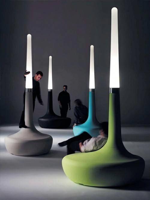 BDLove lamp by Ross Lovegrove