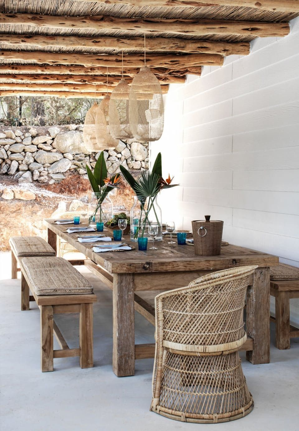 BEAUTIFUL OUTDOOR AREAS ON IBIZA, SPAIN – pickndecor.com/design